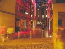 dublin night στοκ φωτογραφία με δικαίωμα ελεύθερης χρήσης