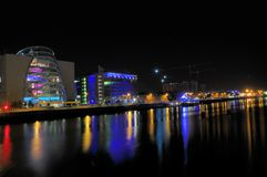 Dublin, night scene Stock Image