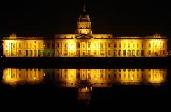 Dublin Obyczajowy dom Zdjęcie Royalty Free