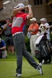 DUBLIN, OH, UNITED STATES - May 29, 2013: Rory McIlroy Golf Swing