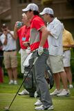 DUBLIN, OH, UNITED STATES - May 29, 2013: Rory McIlroy's Shot