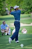 DUBLIN, OH, UNITED STATES - May 29, 2013: Tiger Woods Golf Swing