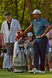 DUBLIN, OH, UNITED STATES - May 29, 2013: Tiger Woods on Tee Box