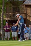 DUBLIN, OH, UNITED STATES - May 29, 2013: Tiger Woods in Tee Box