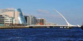 Dublin panorama royaltyfri fotografi