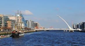 Dublin panorama royaltyfria bilder