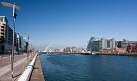 Dublin Port view Royalty Free Stock Photography