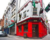 Dublin Pub Foto de archivo libre de regalías