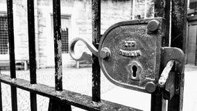 Dublin retro lås Royaltyfri Fotografi