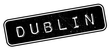 Dublin rubber stamp Royalty Free Stock Photos