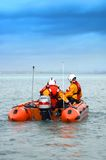 Dublin-Schacht-Rettungsboot   Stockbild