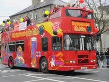 Dublin Sightseeing Bus Arkivbild