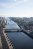 Dublin Skyline Royaltyfri Fotografi