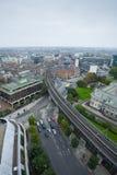 Dublin Skyline Arkivfoto