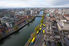 Dublin Skyline Royaltyfri Foto