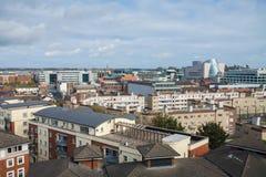 Dublin Skyline Arkivbilder