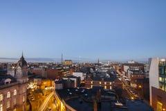 Dublin Skyline. Dublin City Skyline taken from the River Liffey Royalty Free Stock Image
