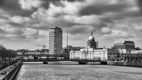 Dublin Skyline Ireland Fotos de archivo libres de regalías