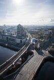 Dublin Skyline. From Liberty Hall Stock Photos