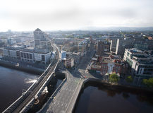 Dublin Skyline. From Liberty Hall stock images