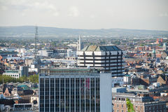 Dublin Skyline. From Liberty Hall royalty free stock image