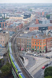 Dublin Skyline. From Liberty Hall royalty free stock photography