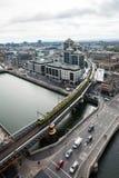 Dublin Skyline. From Liberty Hall Royalty Free Stock Photos