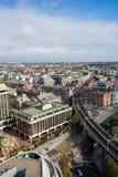 Dublin Skyline. From Liberty Hall Royalty Free Stock Photo