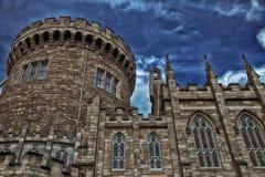 Dublin slott Arkivfoton