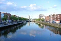 Dublin stad Arkivfoto