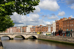 Dublin-Stadtbild Lizenzfreies Stockfoto