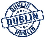 Dublin Stamp illustration stock