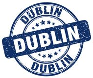 Dublin Stamp illustration libre de droits