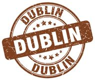 Dublin Stamp Vector Illustratie
