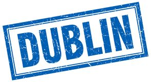 Dublin Stamp illustration de vecteur