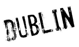 Dublin stamp rubber grunge Stock Images