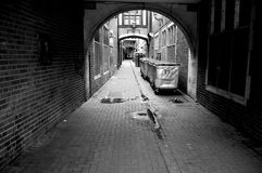 Dublin Street. One of the many streets of the underground Dublin Stock Image