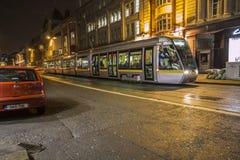 Dublin Streetcar (Luas) - Dublin - Ireland Stock Images