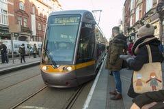 Dublin Streetcar (Luas) - Dublin - Ireland Stock Photos