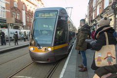 Dublin Streetcar (Luas) - Dublin - Irlanda Fotos de Stock