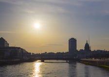 Dublin Sundown Stock Images