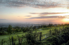 Dublin Sunrise Immagini Stock Libere da Diritti