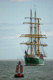 Dublin Tall Ship races 2012 stock photo