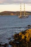Dublin Tall Ship races 2012 royalty free stock image