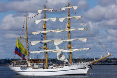 Dublin Tall Ship races 2012 Stock Photos