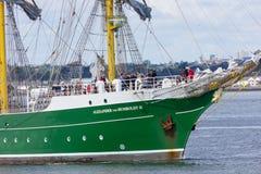 Dublin Tall Ship races 2012 stock image