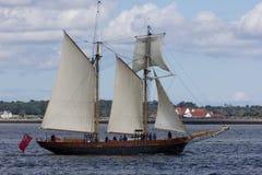 Dublin Tall Ship races 2012 stock images
