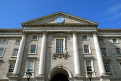 Dublin,Trinity College, Main Entrance Royalty Free Stock Photography