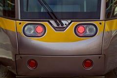dublin twarzy tramwaj Fotografia Royalty Free