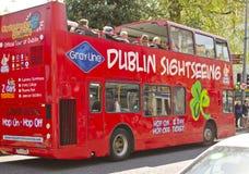 Dublin Zwiedzający autobus Zdjęcie Stock